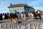 Moyvane Festival:  North Kerry Harriers hunt with their hounds at the start on Monday last as part of the Moyvane Festival.