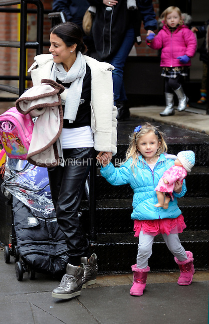 WWW.ACEPIXS.COM<br /> <br /> March 4 2015, New York City<br /> <br /> Tv personality Bethenny Frankel picks up daughter Bryn Hoppy from school in Tribecca on March 4 2015 in New York City.<br /> <br /> <br /> Please byline: Curtis Means/ACE Pictures<br /> <br /> ACE Pictures, Inc.<br /> www.acepixs.com, Email: info@acepixs.com<br /> Tel: 646 769 0430