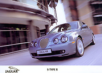 Hand out photo of the 2002 Jaguar S Type R<br />