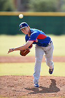 Chicago Cubs pitcher Carson Sands (70) during an Instructional League intersquad game on October 9, 2014 at Cubs Park Complex in Mesa, Arizona.  (Mike Janes/Four Seam Images)