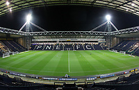 A general view of The Deepdale Stadium home of Preston North End<br /> <br /> Photographer Mick Walker/CameraSport<br /> <br /> The EFL Sky Bet Championship - Preston North End v West Bromwich Albion - Monday 2nd December 2019 - Deepdale Stadium - Preston<br /> <br /> World Copyright © 2019 CameraSport. All rights reserved. 43 Linden Ave. Countesthorpe. Leicester. England. LE8 5PG - Tel: +44 (0) 116 277 4147 - admin@camerasport.com - www.camerasport.com