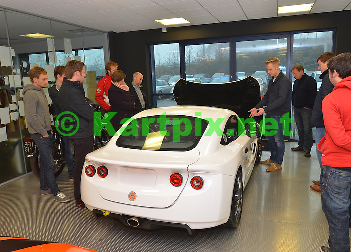Ginetta - Factory tour and test day