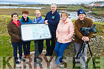 Members of the Ballylongford Tidy Towns, Noirin Lynch, Annette Fitzgerald, Eileen McEllistrim, David Doherty, Eilish Hanrahan with Geoff Hunt as he conducts a Biodiversity Survey in Ballylongford's Sand Quays on Sunday.