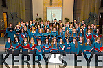 The Mercy Mounthawk School Choir at the Christmas Carol evening at St. Brendan's Church on Thursday