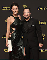 LOS ANGELES - SEPTEMBER 15: Hiro Koda and Jahnel Curfman attends the 2019 Creative Arts Emmy Awards at the Microsoft Theatre LA Live on September 15, 2019 in Los Angeles, California. (Photo by Scott Kirkland/PictureGroup)