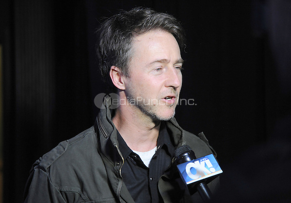 New York, NY- October 23: Ed Norton attends the Labyrinth Theater Company Celebrity Charades 2014:Judgment Day at Capitale on October 27, 2014 in New York City. Credit: John Palmer/MediaPunch