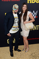 """LOS ANGELES - FEB 29:  Rey Mysterio at the """"Andre The Giant"""" HBO Premiere at the Cinerama Dome on February 29, 2018 in Los Angeles, CA"""