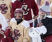Kate Annese (BC - 24), Molly Barrow (BC - 1) - The Boston College Eagles practiced at Fenway on Monday, January 9, 2017, in Boston, Massachusetts.Kate Annese (BC - 24), Molly Barrow (BC - 1) - The Boston College Eagles practiced at Fenway on Monday, January 9, 2017, in Boston, Massachusetts.