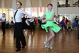 Sascha und Igor auf dem Tanzwettbewerb in Sigulda.