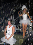 **EXCLUSIVE**.Paris Hilton and boyfriend Doug Reinhardt..Heidi Klum Halloween Party..Voyeur Lounge..Hollywood, CA, USA. .Saturday, October 31, 2009..Photo By Celebrityvibe.com.To license this image please call (212) 410 5354; or Email: celebrityvibe@gmail.com ; .website: www.celebrityvibe.com.
