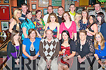 BIRTHDAY FUN: Rachel Lawlor, Fenit having great fun celebrating her 18th birthday with family and friends at the Huddle bar on Saturday seated l-r: Sadhbh, Gemma, Tim, Rachael and Anne Lawlor and Vicky Betts. Back l-r: Niamh Begley, Sean Walsh, Jillian Walsh, Linda Lynch, Debbie Moriarty, Trevor Lawlor, Damo Lawlor, Sarah Dunne, Timmy Clifford, Chloe Moynihan, Ann Marie Dowling, Shauna Donnelley, Brandon Cronin and Nora Anne Glesson.