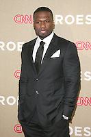 LOS ANGELES, CA - DECEMBER 02:  50 Cent at the CNN Heroes: An All Star Tribute at The Shrine Auditorium on December 2, 2012 in Los Angeles, California. Credit: mpi27/MediaPunch Inc. ©/NortePhoto /NortePhoto©