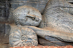 Reclining Buddha, Gal Viharaya, UNESCO World Heritage Site, the ancient city of Polonnaruwa, Sri Lanka