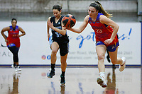 The Central Coast Crusaders play Sutherland Sharks in Round 8 of the Waratah League Youth League Women at Breakers Stadium on 29th of August, 2020 in Terrigal, NSW Australia. (Photo by James Quigley/LookPro)