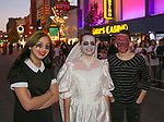 Felicity, Terryenn and Crystal during the Zombie Crawl held on Saturday night, October 26, 2019 in downtown Reno.