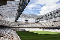 CURITIBA, PR, 24.02.2014 - ARENA DA BAIXADA / COPA DO MUNDO Vista do estádio da Arena da Baixada em Curitiba, Paraná, estádio que será sede de 4 jogos da Copa do Mundo 2014. na tarde desta segunda-feira (24).(Foto: Paulo Lisboa / Brazil Photo Press)
