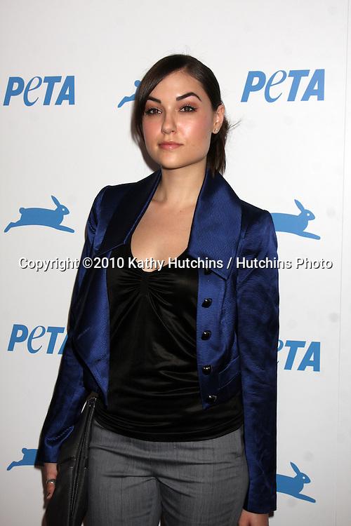 LOS ANGELES - SEP 25:  Sasha Grey arrives at the PETA 30th Anniversary Gala at Hollywood Palladium on September 25, 2010 in Los Angeles, CA