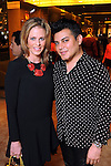 Elizabeth Petersen and Edward Sanchez at the Grand Opening Cocktail Reception at Miu Miu in the Houston Galleria Monday Feb. 27,2012. (Dave Rossman Photo)