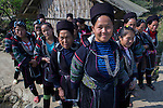 Funeral of a Black Hmong tribe member, Northern Vietnam.