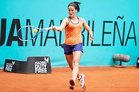 Spanish Lara Arruabarrena during Mutua Madrid Open 2018 at Caja Magica in Madrid, Spain. May 07, 2018. (ALTERPHOTOS/Borja B.Hojas) /NortePhoto.com