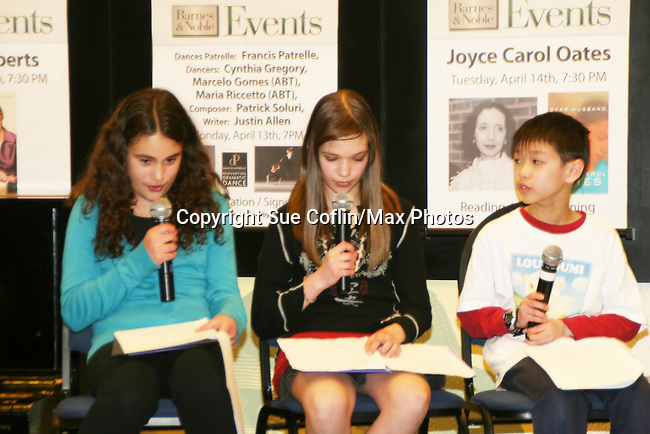 """at the booksigning of Loukoumi's """"Good Deeds"""" on April 4, 2009 at Lincoln Square, Barnes & Noble, New York City, NY.  $2 of each book sale will be donated to St. Jude Children's Research Hospital which is in itself, a good deed. (Photo by Sue Coflin/Max Photos)"""