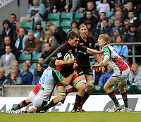 Twickenham, GREAT BRITAIN,  during the Guinness Premiership match,  Saracens vs Harlequins, at Twickenham Stadium, Surrey on Sat 06.09.2008. [Photo, Peter Spurrier/Intersport-images]