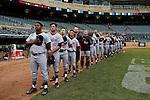 Maryland v Michigan<br /> Big 10 Baseball Tournament Championship Game<br /> <br /> &copy;2015 Bruce Kluckhohn<br /> #612-929-6010<br /> bruce@brucekphoto.com