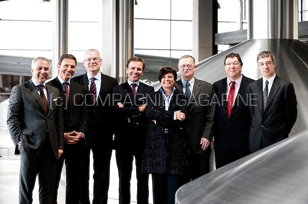 The Board of Management of the Duvel Moortgat NV brewery (Breendonk, 18/03/2011)