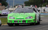 Aug. 8, 2009; Watkins Glen, NY, USA; NASCAR Nationwide Series driver Tom Hubert during the Zippo 200 at Watkins Glen International. Mandatory Credit: Mark J. Rebilas-