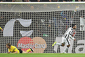 24.02.2015. Turin, Italy. EUFA Champions League football. Juventus versus Borussia Dortmand. Juve celebrate as they go up 1-0 to a Tevez goal