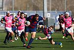 Juan Cruz, FC Barcelona 31 v 42 VRAC Quesos Entrepinares, Stadio La Teixonera, Barcelona. Jornada 12, Liga Heineken 2017/2018. Photo Martin SerasLima