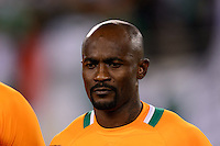 Ivory Coast defender Didier Zokora (5). Mexico defeated the Ivory Coast 4-1 during an international friendly at MetLife Stadium in East Rutherford, NJ, on August 14, 2013.