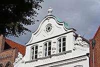 Buddenbrook-Haus (1758) in Lübeck, Schleswig-Holstein, Deutschland,  Unesco-Weltkulturerbe
