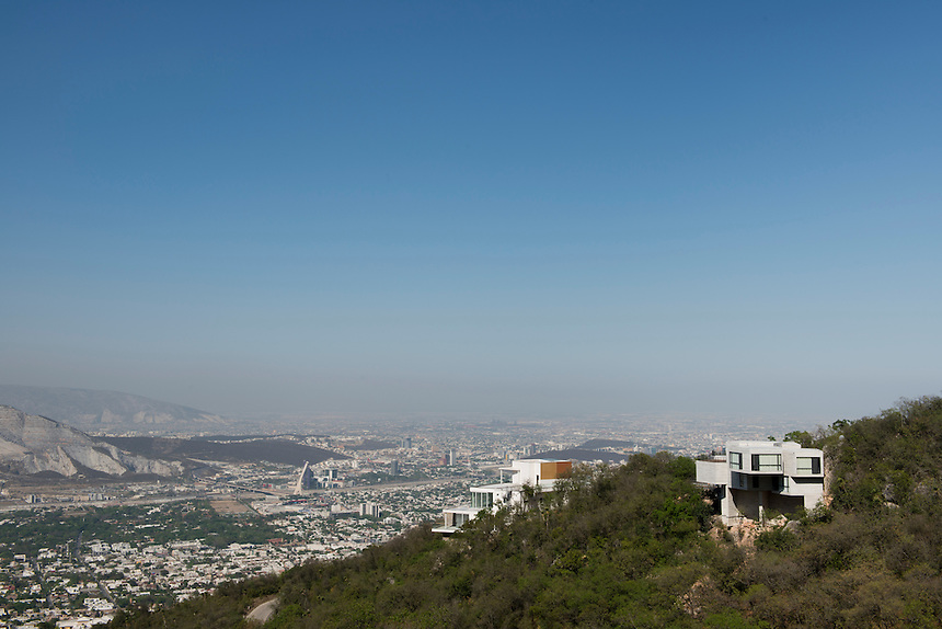 Private house by architect Tatiana Bilbao in Monterrey, Nuevo Leon Mexico