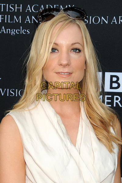 Joanne Froggatt.9th Annual BAFTA Los Angeles TV Party held at L'Ermitage Beverly Hills Hotel.  Beverly Hills, California, USA,.17th September 2011..portrait headshot white sunglasses on head .CAP/ADM/BP.©Byron Purvis/AdMedia/Capital Pictures.