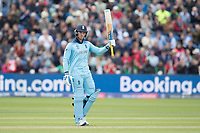 Jason Roy (England) acknowledges his half century  during England vs Bangladesh, ICC World Cup Cricket at Sophia Gardens Cardiff on 8th June 2019