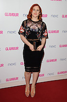 Katy B arrives for the Glamour Women of the Year Awards 2014 in Berkley Square, London. 03/06/2014 Picture by: Steve Vas / Featureflash