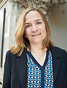 Tracy CHevalier, author and writer of Girl with a Pearl Earing at The Oxford Literary Festival 2016.  pic Geraint Lewis