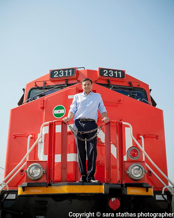Lorenzo Siminelli, CEO of GE Transportation