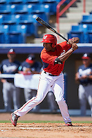 Washington Nationals Armond Upshaw (3) during an Instructional League game against the Atlanta Braves on September 30, 2016 at Space Coast Stadium in Melbourne, Florida.  (Mike Janes/Four Seam Images)
