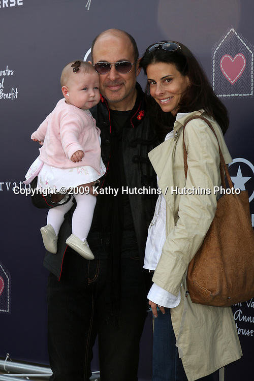 John Varvatos & Family  arriving at the 7th Annual John Varvatos Stuart House Benefit at the John Varvatos Store in West Hollywood, CA  on.March 8, 2009.©2009 Kathy Hutchins / Hutchins Photo...                .
