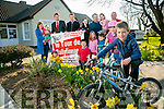 The Launch of Le Tour de Ballyfinnane on 2nd April, starting at 10am  at Ballyfinnane National School Pictured, front l-r  Shauna Flynn, Ross Lally, Middle l-r Eimear Corbett Eoin Corbett, Rachel Lally, Micheal Griffin,  Back l-r Claire O'Connor, Doireann  O'Connor, Brendan Griffin,   Sean Lally, Laura Corbett, Tom Corbett, Seoidin O'Connor, Neilus Flynn