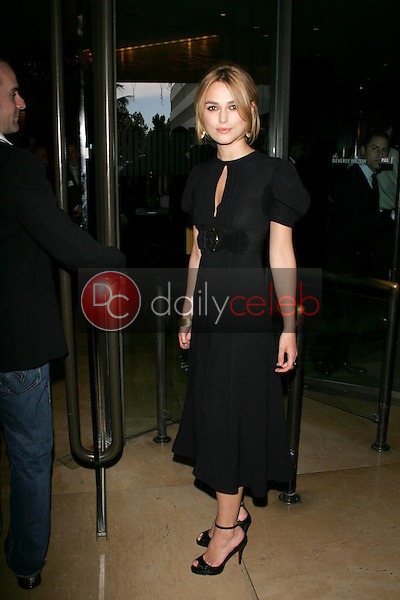 Keira Knightley<br />