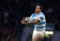 Argentina's Emiliano Boffelli<br /> <br /> Photographer Rachel Holborn/CameraSport<br /> <br /> International Rugby Union Friendly - Old Mutual Wealth Series Autumn Internationals 2017 - England v Argentina - Saturday 11th November 2017 - Twickenham Stadium - London<br /> <br /> World Copyright &copy; 2017 CameraSport. All rights reserved. 43 Linden Ave. Countesthorpe. Leicester. England. LE8 5PG - Tel: +44 (0) 116 277 4147 - admin@camerasport.com - www.camerasport.com