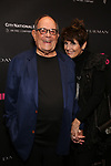 Laurence Luckinbill and Lucie Arnaz attends 'The Boys in the Band' 50th Anniversary Celebration at The Booth Theatre on May 30, 2018 in New York City.