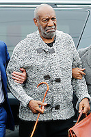 Actor and comedian Bill Cosby (C ) arrives to the court before his arraignment on sexual assault charges at the Montgomery County Courthouse in Elkins Park, Pennsylvania. 12/30/2015. VIEWpress