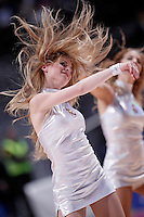 Real Madrid's cheerleaders during Euroleague 2012/2013 match.November 30,2012. (ALTERPHOTOS/Acero) /NortePhoto