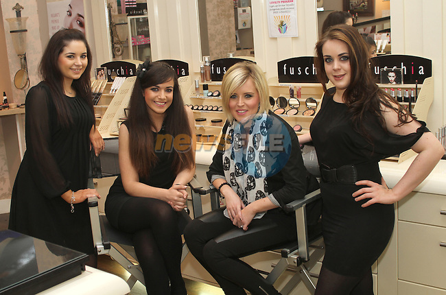 Dawn Finnegan, Ciara Duggan, Leona Wogan and Juliet Morrow at Fuschia, Scotch Hall...(Photo credit should read www.newsfile.ie)....This Picture has been sent you under the conditions enclosed by:.Newsfile Ltd..The Studio,.Millmount Abbey,.Drogheda,.Co Meath..Ireland..Tel: +353(0)41-9871240.Fax: +353(0)41-9871260.GSM: +353(0)86-2500958.email: pictures@newsfile.ie.www.newsfile.ie.