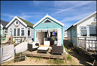 Britain's most expensive beach hut hits the market for £280,000.