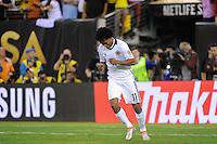 East Rutherford, NJ - Friday June 17, 2016: Juan Cuadrado during a Copa America Centenario quarterfinal match between Peru (PER) vs Colombia (COL) at MetLife Stadium.